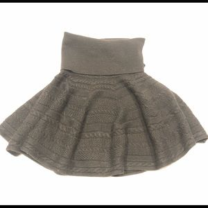 🦈Zara knit knitted winter skirt M